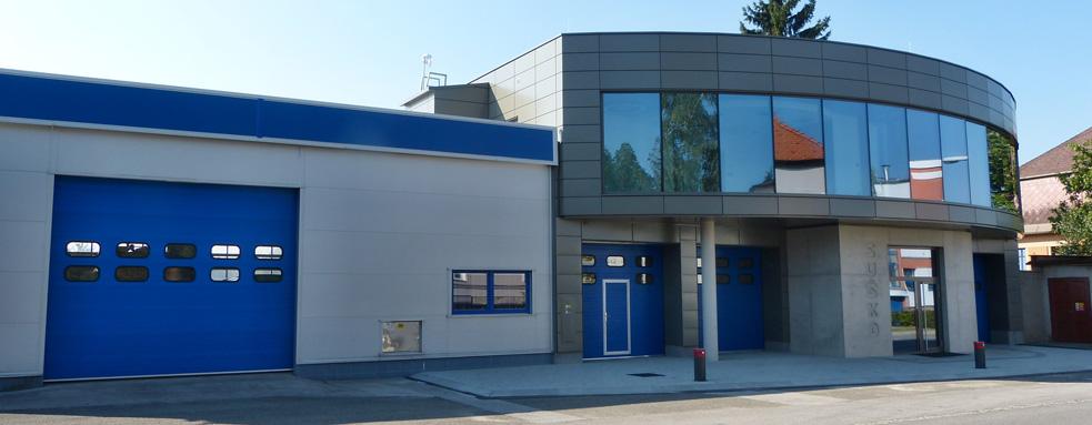 Provozní budova ve Dvoře Králové