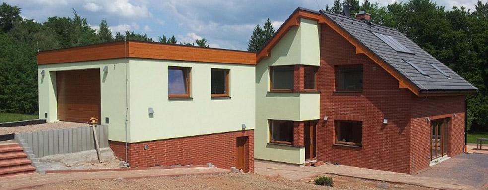 Stavba rodinného domu v Žacléři