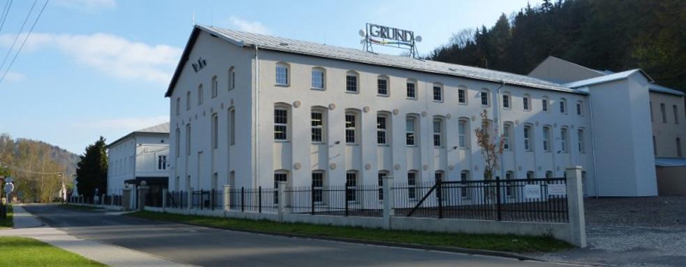 Rekonstrukce areálu firmy GRUND a.s.