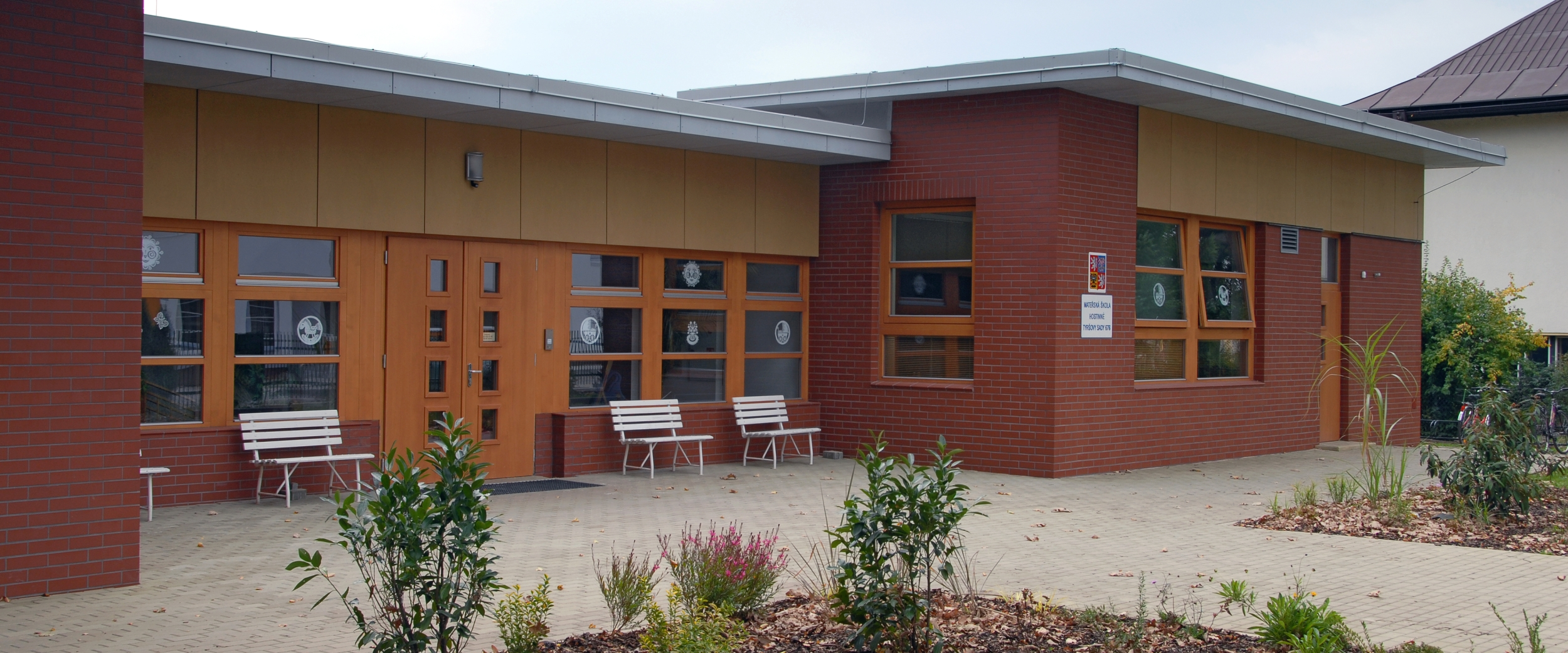 Mateřská školka v Hostinném - Stavba roku Královehradeckého kraje 2008