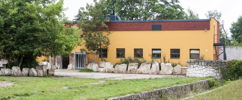 Pavilon nosorožců v ZOO Dvůr Králové