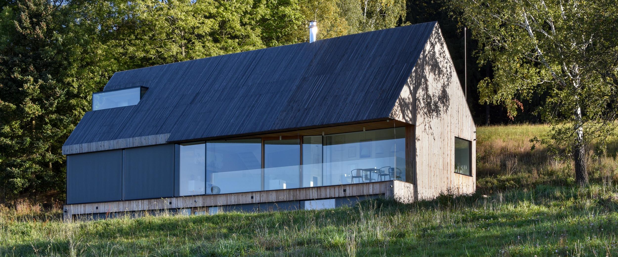 Nízkoenergetický rodinný dům v Malých Svatoňovicích