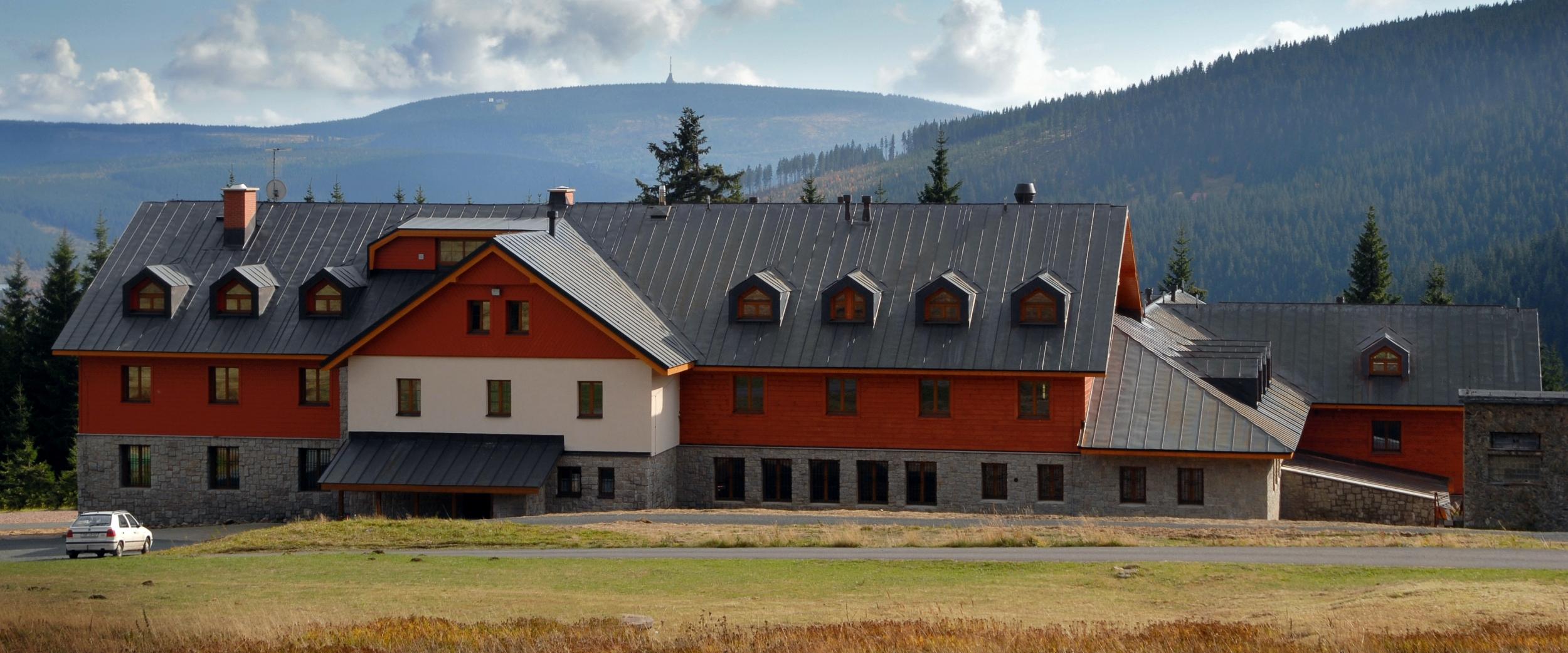 Rekonstrukce Richtrovy boudy v Peci pod Sněžkou