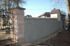 Oprava hřbitovní zdi v Dolní Kalné