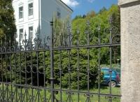 Renovace plotu u Rehabilitačního ústavu v Hostinném